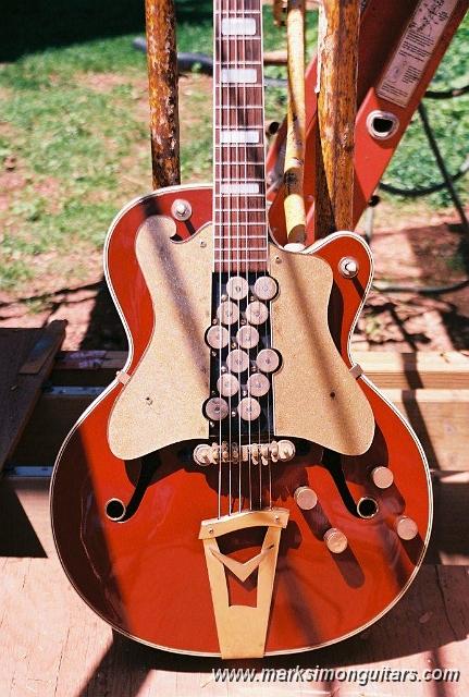 Mark Simon Guitars - Photo Galleries/1959 Vega 1200 Stereo